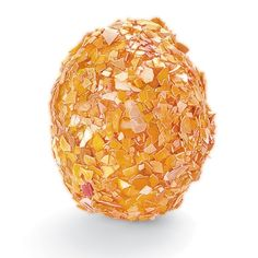 Simply Smashing Shells    Crushed shells make an unusual and terrific textured surface for your Easter eggs.