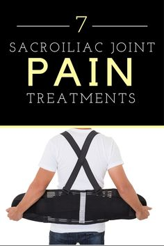 Though many SI joint treatments exist, few have proven effective. Learn about your options: http://backandneck.about.com/od/conditions/ss/7-Treatments-for-Sacroiliac-Joint-Pain-and-Dysfunction.htm