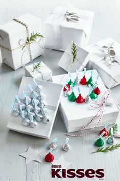 Say joy with a Kiss. Click for fun and creative Kissmas crafts with HERSHEY'S KISSES Chocolates!