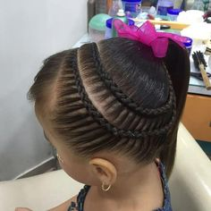 Untitled #estoscoloressonincreibles Baby Girl Hairstyles, Princess Hairstyles, Braided Hairstyles, Cool Hairstyles, Top Braid, Latest African Fashion Dresses, Hair Game, Braids For Long Hair, French Braid