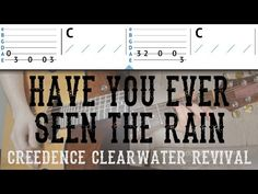 """""""Have You Ever Seen The Rain"""" Guitar Tutorial - CCR   Easy Guitar Lesson - YouTube"""