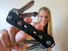 KeyZ: the world's first simple intuitive way to carry keys, with a 32GB USB and multitool.