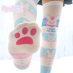 Overwatch D.VA Bunny Knee Socks Ver.2 SD01928