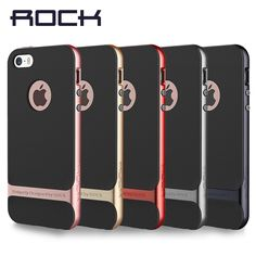 ROCK Luxury Royce Case For iPhone SE 5 5S Slim Armor cover shell Brand Back case for iPhone 5s SE