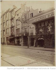 Montmartre : Cabaret du Ciel, 51 boulevard de Clichy, 1900
