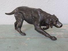 dog statue from France   Attic Antics