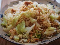 凍らせ豆腐のツナ風そうめんチャンプルー | vege dining 野菜のごはんPowered by Ameba