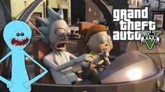 GTA 5 Mods - Rick and Morty (Mr. Meeseeks  Flying Spaceship)