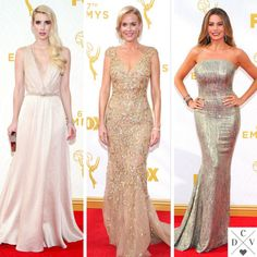 Light colors from #Emmys red carpet!
