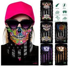 Magic Headwear Pink Samples Outdoor Scarf Headbands Bandana Mask Neck Gaiter Head Wrap Mask Sweatband
