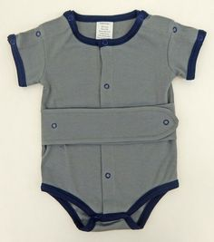 Kozie Medical And G-Tube One-Piece Bodysuit by KozieClothes