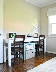 """Office Progress: File This Under """"S"""" For Storage 