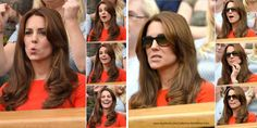 Kate Middleton, Duchess of Cambridge at Wimbledon (July 8, 2015).