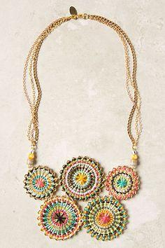 Stellar Bib Necklace - Handmade in LA by Gilda Grey.