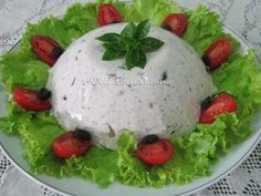 Mousse Salgado de Shitake - Na Biroskinha Flan, Tacos, Foie Gras, Drinking Tea, Dips, Good Food, Food And Drink, Appetizers, Dining