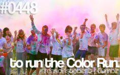 Color run!