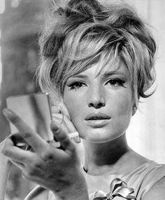 Italian actress Monica Vitti