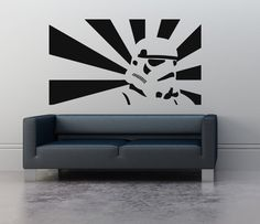 Wall Art sticker transfer bedroom,lounge,storm trooper ...