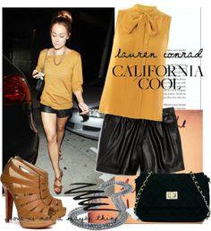 """Celebrity Style: Lauren Conrad 2"" by priscilla12 on Polyvore"