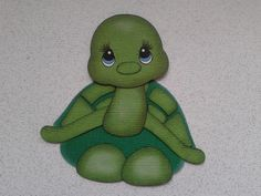 Animal Paper Piecing Patterns | TURTLE ANIMAL SCRAPBOOK PAPER PIECING TINY TREASURE BY MY TEAR BEARS ...