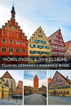 Nördlingen and Dinkelsbühl are two charming towns on Germany's Romantic Road well worth visiting.:
