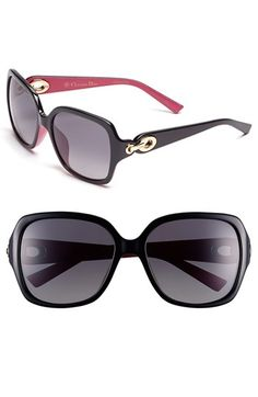 Christian Dior 57mm Polarized Sunglasses available at #Nordstrom