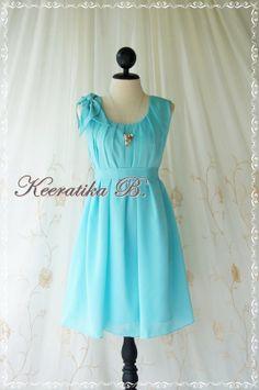 tiffany blue wedding dress   ... Tiffany Blue Dress Prom Dress Party Bridesmaid Dress Wedding Dress