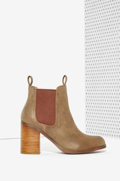 Lipstik Shoes Nettle Chelsea Boot - Brown