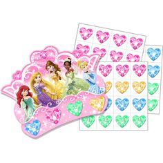 Disney Princess Bingo Party Game