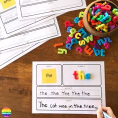 Sight Word Say It Make It Write It Use It Mats Oxford List Words - Based on our super popular Say It Make It Write It Mats, these sight word mats include the first 10 - Sight Word Sentences, Teaching Sight Words, Sight Word Activities, Phonics Activities, Writing Activities, High Frequency Words Kindergarten, Listening Activities, Writing Station, Writing Area