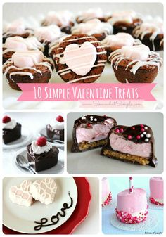 10 simple and delicious Valentine's Day treats from Somewhat Simple