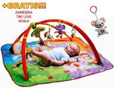 TINY LOVE MATA GIMNASTYKA DLA BOBASA MOVE & PLAY TL120180 + GRATIS