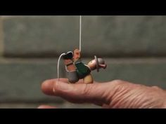 Hand Carved Pull-up Toys - Garrett Wade