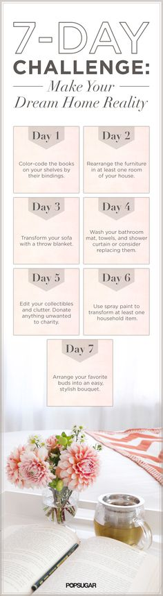 """Make your place """"pin worthy"""" in 7 days!"""
