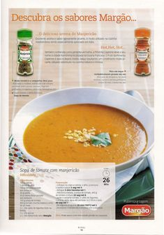 Revista bimby 13 Cheeseburger Chowder, Thai Red Curry, Soup Recipes, Food And Drink, Fruit, Cooking, Ethnic Recipes, Laser, Design