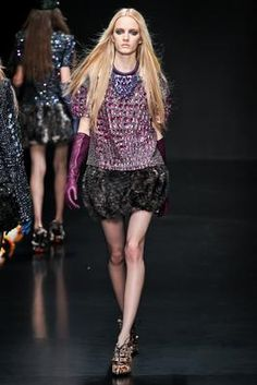 Roberto Cavalli Fall 2012 Ready-to-Wear Fashion Show: Complete Collection - Style.com