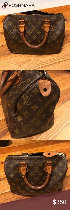 Louis Vuitton Speedy 25 Louis Vuitton Speedy 25. Date Code SP0935. Few minor scratches on the handle. Patina on the handles. Zipper works without any problems. I inherited this from my grandmother but unfortunately, I never use it. Louis Vuitton Bags Satchels