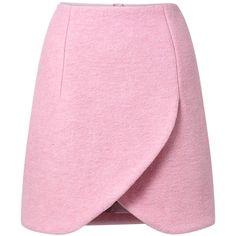 Petal Hem Crushed Wool Mini Skirt by Carven Cute Skirts, Mini Skirts, Short Skirts, Skirt Outfits, Dress Skirt, Mode Rose, Wool Mini Skirt, Carven, Wool Skirts