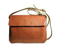 M.Hulot | Diplo satchel-tan