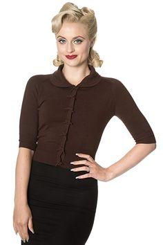 Minerva Brown Sweater