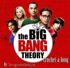 Big Bang Theory Inspired Crochet-A-Long