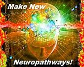 "Wording ""Make New Neuropathways"" and  cool picture on front. Optional business info on back. Available in multiple colors"