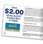Aleve $2 off #coupon Click the pic to get the #deal