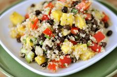 Mango and Black Bean Quinoa Salad | Mel's Kitchen Cafe