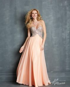 806bc505d22c2 Buy Shiny 2014 Prom Dresses Rhinestone Beaded Bodice A Line Floor Length  Online