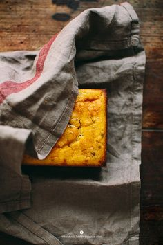 White Cheddar And Scallion Corn Bread Recipe — Dishmaps