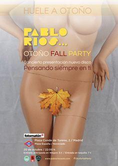 Cartel concierto / Cliente: Pablo Ríos / 2017 Gig Poster