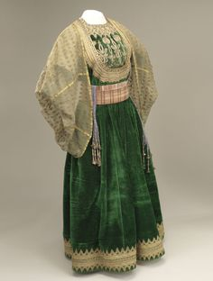 """The Great Dress"" (berberisca or al kesswa l'kebira), early 20th century, Fez, Morocco."
