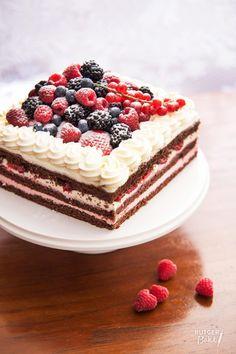 Chocolade-frambozentaart – recept - Rutger Bakt