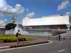 Cultural Centre of the Philippines - it is iconic because of the design that is unique and it is famous in the philippines